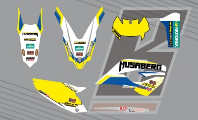 Art. White Husaberg